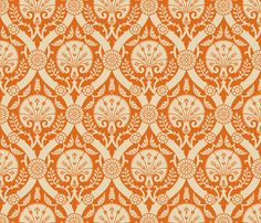 DamaskVA3a fabric by muhlenkott on Spoonflower - custom fabric