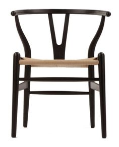 Replica Hans Wegner Wishbone Chair Premium Walnut/Oak   Matt Blatt