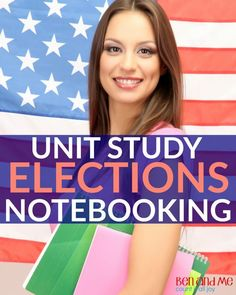 Using unit studies + notebooking to teach your homeschool students about the elections process.