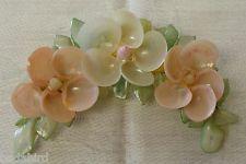 Vintage seashell brooch | eBay