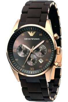 Check out this watch, a perfect wedding gift for the man of the day, the black and gold is unique look that will be sure to valued for years to come.