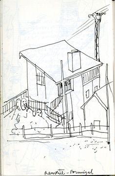 """29.- Juan Azpeitia. Del cuaderno: """"Arriba estaba el álgebra negra de las constelaciones"""". 2000 - 2011. Estación de remonte de Formigal"""
