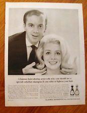 1964 Clairol Shampoo Ad Leslie Blanchard Antoine Salon