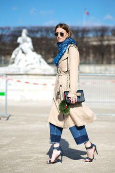 Noor De Groot of Queen of Jetlag at Paris Fashion Week