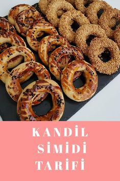 Onion Rings, Doughnut, Starbucks, Food And Drink, Cookies, Ethnic Recipes, Desserts, Turkish Recipes, Crack Crackers