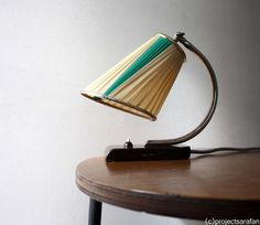 Art Deco /Bauhaus Table Lamp Ca 1930s Marble by ProjectSarafan, €175.00