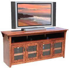 Our American Mission Oak Collection is a beautiful example of traditional Mission furniture showcasing clean lines and a full-grain expression. Mission Furniture, Rustic Furniture, 65 Tv Stand, Mission Oak, Entertainment Center Decor, Fun Activities For Kids, Dinners For Kids, Tv Cabinets, Particle Board