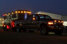 Ford+Horse trailer+Lights=AWESOME!