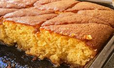 Greek Desserts, Cornbread, Cake Recipes, French Toast, Food And Drink, Yummy Food, Cooking, Breakfast, Ethnic Recipes