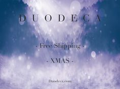 Get FREE shipping when you order before Christmas!  Use code 'XMAS' on our website!