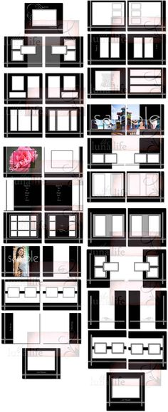 wedding album page layout - Google Search