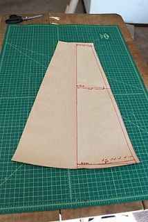 gored wrap skirt pattern making