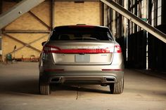 A wide, athletic stance exudes confidence. #LincolnMKX
