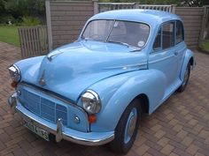 "Klaus' 1954 Morris Minor ""Morrie"" - AutoShrine Registry"