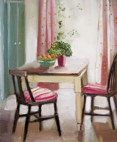 Blog   Janet Hill   Glamorous   Chic   Oil Paintings   Page 53