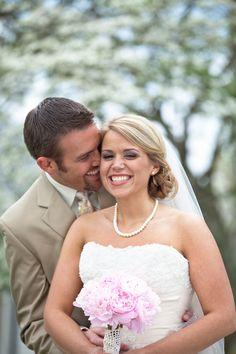 Bride & groom (photo by JoPhoto) #weddings