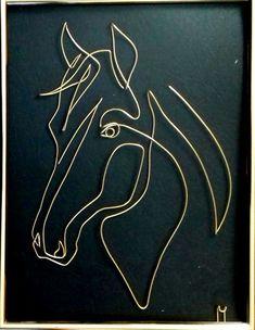 Wire Art Sculpture, Plaster Sculpture, Sculpture Lessons, Decorative Metal Screen, Horse Stencil, Art Fil, Scrap Metal Art, Welding Art, Metal Artwork