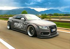 Audi by Liberty Walk Rims For Cars, Hot Cars, Audi A5 Coupe, Audi Rs5, Liberty Walk, Mobile Art, Wide Body, Modified Cars, Car Wheels