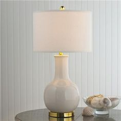 Classic Ceramic Bottle Table Lamp - 6 colors