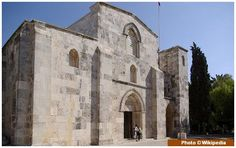 The Church of Saint Anne is a French Roman Catholic church and French national located at the start of the Via Dolorosa, near the Lions' Gate and churches of the Flagellation and Condemnation, in the Muslim Quarter of the Old City of Jerusalem. Nativity Of Mary, City Of God, Dome Of The Rock, Lions Gate, St Anne, Episcopal Church, Holy Land, Romanesque, Old City