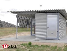 1000 images about caseta prefabricada para parque solar rada navarra on pinterest solar - Balat modulos prefabricados ...