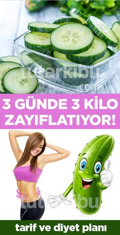 3 Günde 3 Kilo Zayıflatan Salatalık Diyeti - Lo Que Necesitas Saber Para Una Vida Saludable Nutrition Education, Diet And Nutrition, Health Diet, Health Fitness, Eco Slim, Low Fat Diets, 3 Pounds, Cholesterol Diet, Weight Loss Meal Plan