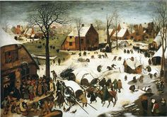Winter Landscape with Skaters and a Bird Trap - Pieter Bruegel the Elder - WikiPaintings.org
