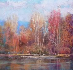 Tom Christopher - I think this is pastel but I am not sure.