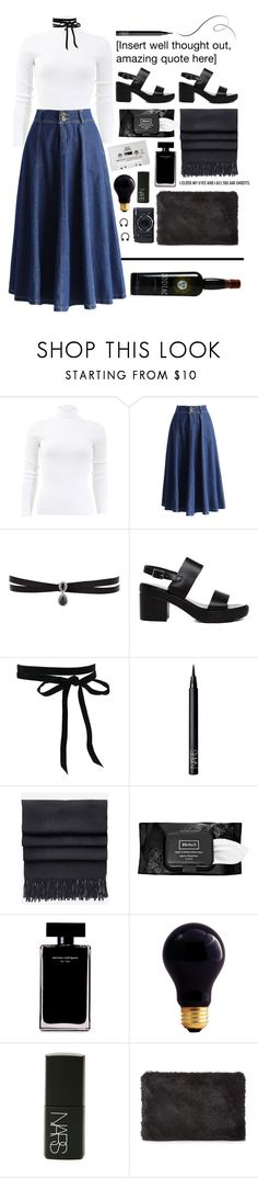 """""""Codiac"""" by ingridballo ❤ liked on Polyvore featuring Michael Kors, Chicwish, Fallon, ASOS, NARS Cosmetics, Acne Studios, CASSETTE, Kat Von D, Narciso Rodriguez and Bulbrite"""