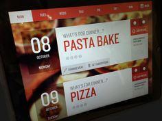 Dribbble - Meal Planner App by Ben Garratt