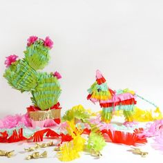piñatas~Cactus piñata
