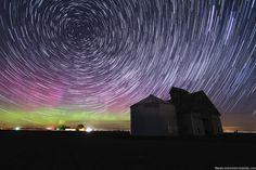 Long Exposure Auroras