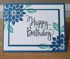 Beach Themed Birthday Cards Unique Birthday Card Made With Stampin Up S Flourishing Phrases High Definition Wallpaper Photographs