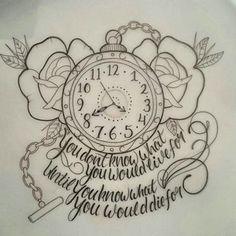 Bildergebnis für tim burton alice in wonderland tattoo Tattoos Skull, Baby Tattoos, Body Art Tattoos, Sleeve Tattoos, Clock Tattoos, Tatoos, Portrait Tattoos, Child Tattoos, Letter Tattoos