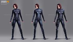 A selection of Illustrations and Concept Art from our latest project, Modern Combat Blackout Superhero Suits, Jet Fighter Pilot, Avatar, Armor Clothing, Female Armor, Sci Fi Armor, Future Clothes, Sci Fi Characters, Female Character Design