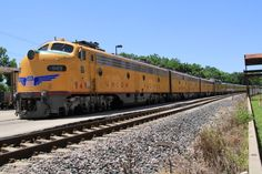 1955 Union Pacific Passenger Train