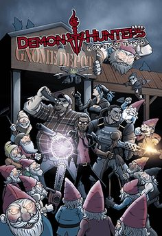 Demon Hunters   A weekly webcomic from the creators of The Gamers