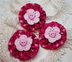 fabric yo yo crafts - Yahoo Image Search Results