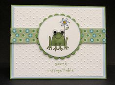 Frogs are Unfrogettable by jimlynn - Cards and Paper Crafts at Splitcoaststampers