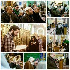 [ 26 Jammad Al-Akhir 1437 ]  Prayers and Recitations inside Imam Hussein Holy Shrine   Peace Be Upon Ya Imam Hussein
