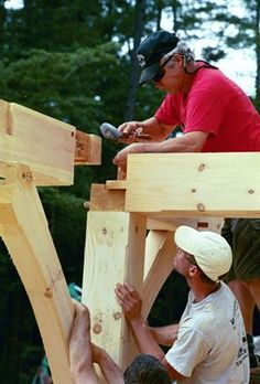 Timber Frames construction: