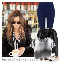"""Breakfast with eleanor"" by louisismykitten ❤ liked on Polyvore featuring Topshop, Givenchy, Enza Costa, MANGO, Gorgeous Cosmetics, Miu Miu, ASOS, eleanor and eleanorcalder"
