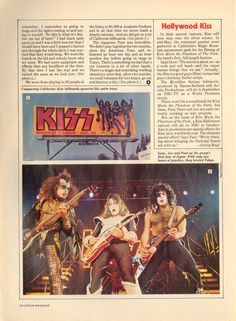 Stage Lighting, Kiss, Hollywood, The Incredibles, Magazine, Image, Movie Posters, Film Poster, Magazines