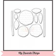 My Favorite Things Die-namics - LJD Scribble Roses