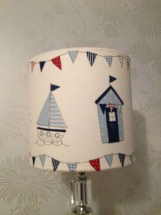beach hut lampshade