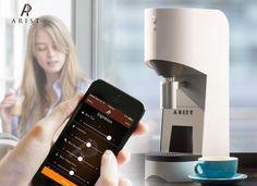 Arist Smartphone Controlled Coffee Maker Hits Kickstarter (video)
