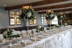 Frosty Winter Wedding Day at The Inn at Whitewell Wedding Table, Wedding Day, Party Wedding, Crystal Candelabra, St Michael, Backdrops, Table Settings, Winter, Floral