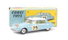 "Mettoy Corgi diecast No.323 Citroen DS19 ""Rallye Monte Carlo"""