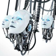 Resultado de imagen para dark cyborg female robots