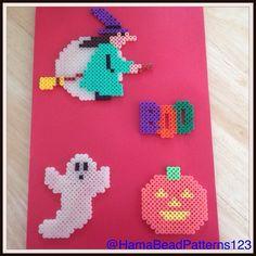 Hama Bead Halloween Items by hamabeadpatterns123